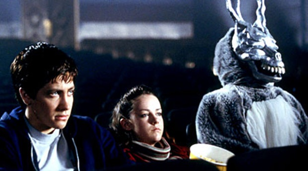 Donnie Darko (L - R) Jake Gyllenhaal & Jena Malone © Warner Brothers Int TV