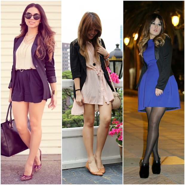 cabbd936ab Quero um pra chamar de meu! Amei as combinações com saia e vestido e vocês   Gostam de blazer preto