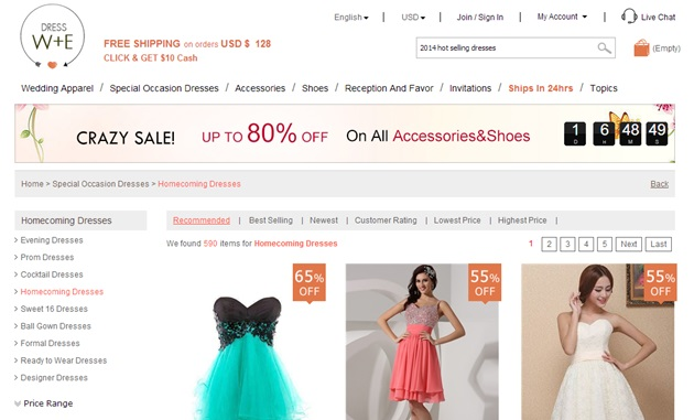 dresswewebsite