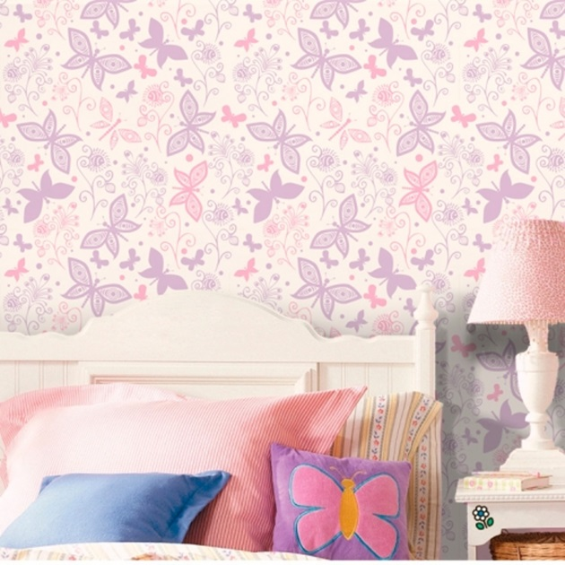 papel-de-parede-fantastic-butterflies