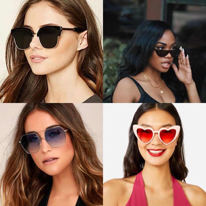 Óculos de sol arredondado já tinha aparecido nos rostos femininos nas  temporadas passadas. O que mudou de um ano para outro  Agora, as armações e  lentes ... b0aae3ec92