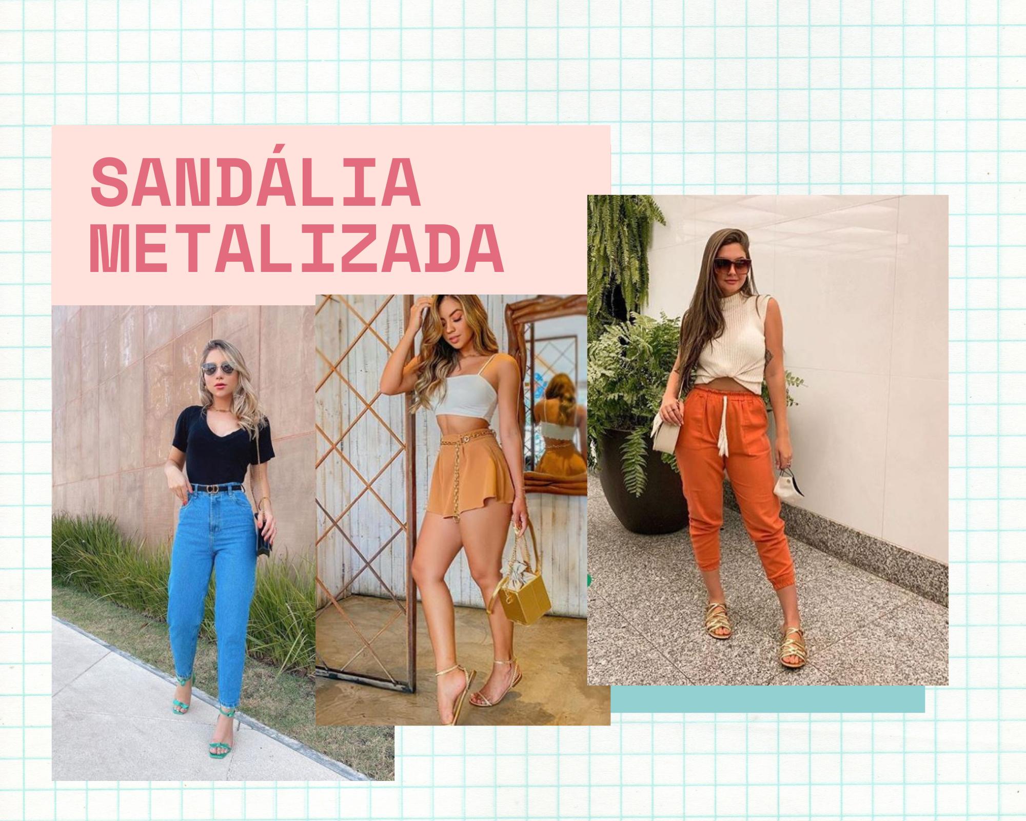 sandaliametalizada